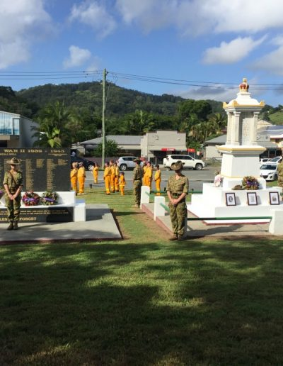 Anzac Day 2016 at Burringbar