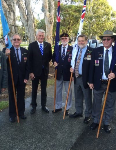 Anzac Day at Pottsville 2