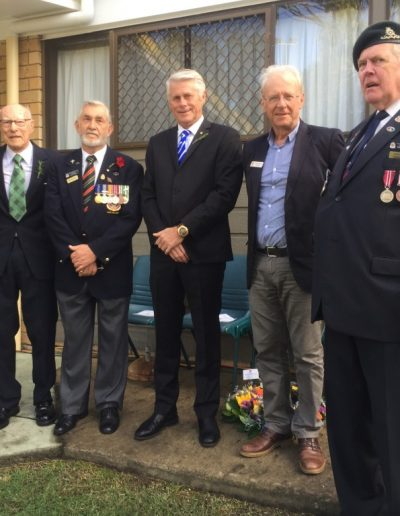 Anzac Day at Pottsville