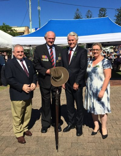Anzac day 2015 at Kingscliff