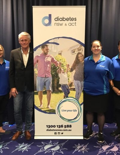 At the Diabetes Australia