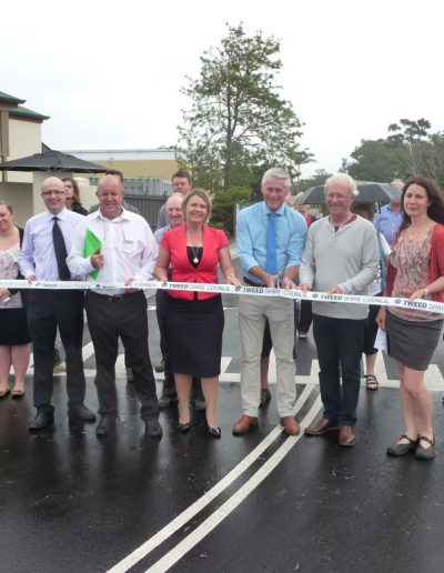 Berkely Lane, Pottsville official opening