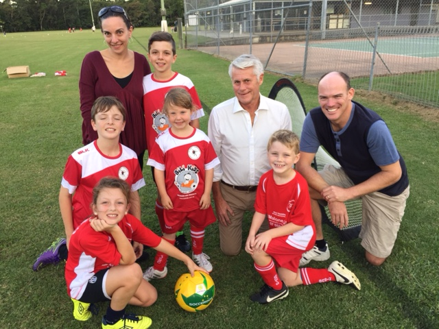 Bilambil Soccer Club received funding through the NSW Government Sport & Rec funding for new sporting equipment