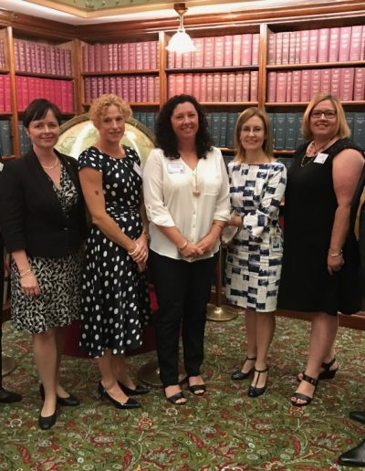 Celebrating Women in Local Government. Pictured here with Tracey, Liz, Erika and Tanya and The Hon Gabrielle Upton, Minister for Local Government and The Hon Tanya Davies, Minister for Women