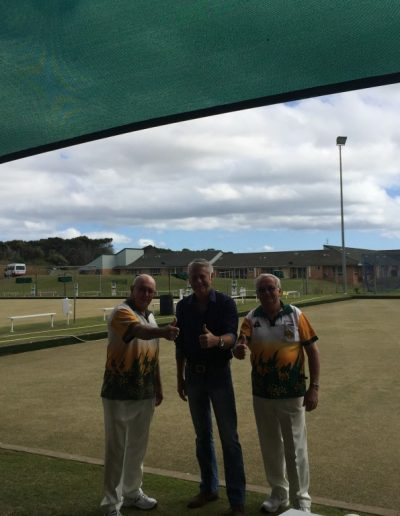 Cudgen Leagues Mens and Womens bowling receive a grant for shade sails