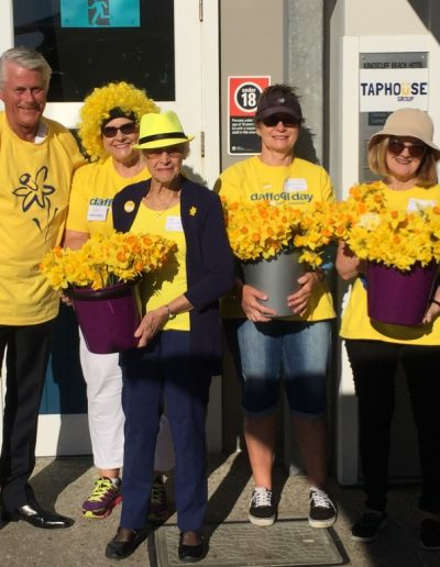 Daffodil Day 2016 kicks off in Kingscliff