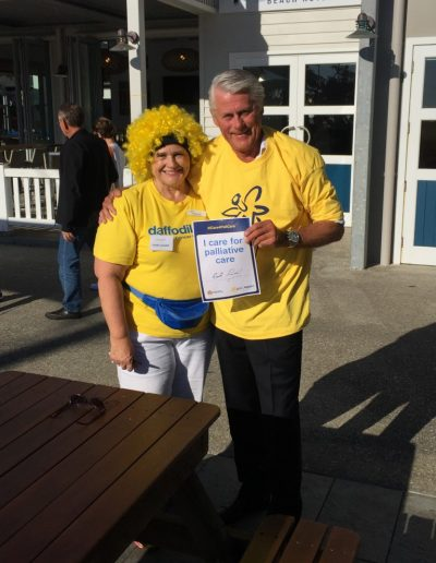 Daffodil Day fundraising with Nerida Dean