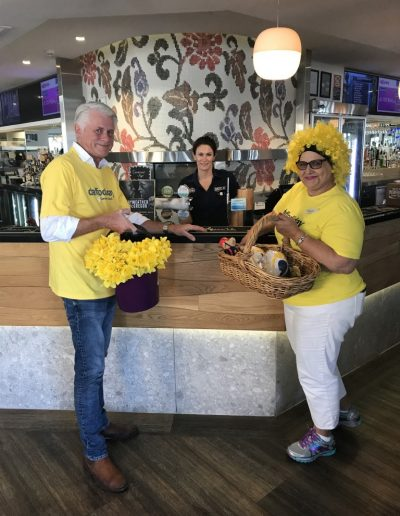 Daffodil Day in Kingscliff with Nerida Dean