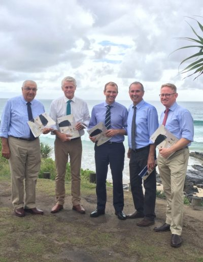 Minister Rob Stokes visit Tweed to announce the The Draft North Coast Regional Plan