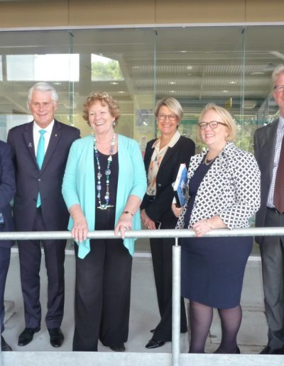 Minister for Health Jillian Skinner and I meet with the Tweed Hospital Executives to dicuss the progress of the Hospital upgrades