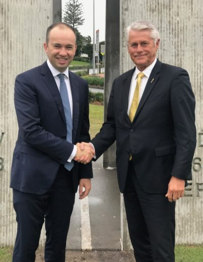 Minister for Innovation and Better Regulation, The Hon Matt Kean visits Tweed