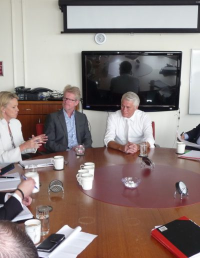 Minister for Rural Health, Senator Fiona Nash comes to Tweed to meet with Tweed Hospital Heads of Dept