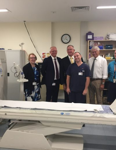 NSW Health Minister visit to Tweed Hospital