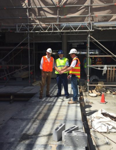 New Tweed Police station site tour - full steam ahead for construction