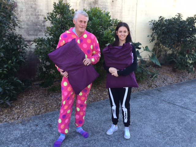 New attire for the planned Community Sleepout with Freds Place