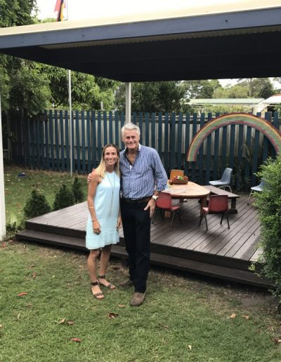 Possum Preschool received Community Building Partnership funding to upgrade their facilities and add a weather proof cover for the gazebo in the playground
