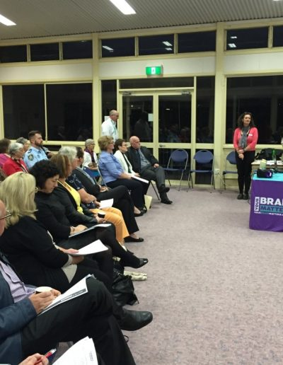Public Dementia meeting held in Tweed on behalf of Alzheimer's Australia