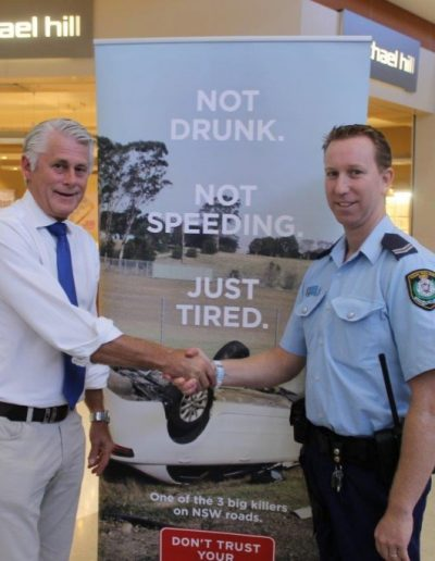 Talking to Tweed Senior Police Constable Mark Harrison