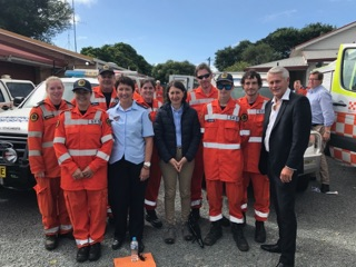 The NSW Premier comes to Tweed. The Hon Gladys Berejiklian travelled to Tweed to show support for our flood affected residents