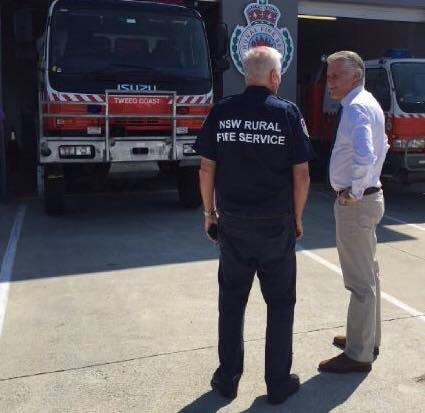 Tweed Coast Rural Fire Brigade opening of upgrades